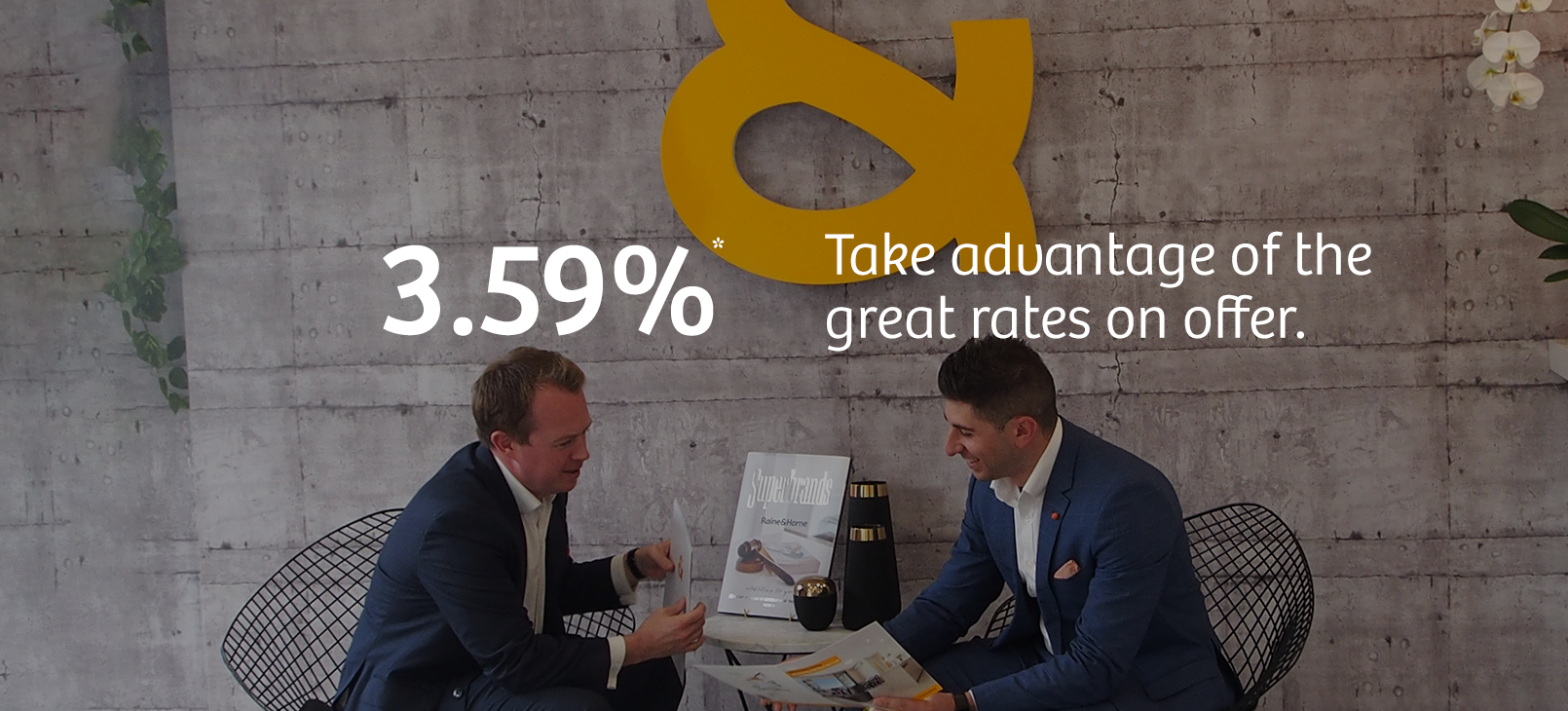 Take advantage of the great rates on offer